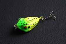 1pcs Frog Proberos 4cm/6g Fishing tackle peche 3D Eye Plastic Lure baits bass !!