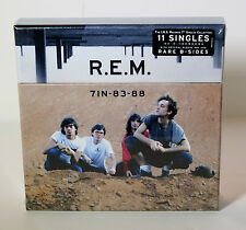 """R.E.M. 7IN-83-88 I.R.S. Singles Collection 11 x 7"""" VINYL BOX SET Sealed IRS REM"""