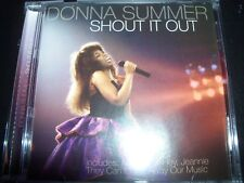 Donna Summer – Shout It Out CD – Like New