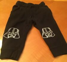 Nwt Gymboree Boys Star Wars Pull on Pants Sweatpants Darth Vader 18-24 month