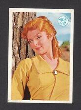 Daniel Boone Patricia Blair Vintage 1960s TV Show Card Look! from Spain
