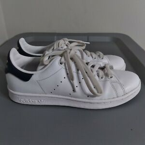 Adidas by Stan Smith Women's Size 6.5 Shoes White/Navy Athletic Low Top Sneakers