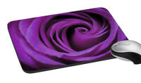 "Floral Mousepad Rectangular Gaming Mouse Non-Slip Mat For Computer Pad  7.2x8"""