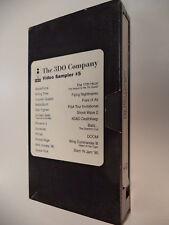 The Panasonic 3DO Company Video Sampler #5 VHS Promo Tape 11th Hour, Golden Gate