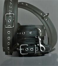 4-teiliges Unisex Set aus Oberschenkel- und Handgelenk-Manschetten kombinierbar