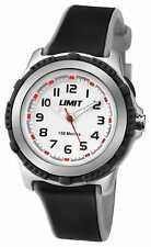 Limit Kinderen Actief Zwart Kunststof Band Witte 5597.24 Horloge