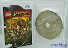 LEGO Indiana Jones: The Original Adventures Nintendo Wii COMPLETE Scratched Work