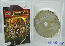 LEGO Indiana Jones: The Original Adventures Nintendo Wii COMPLETE Scratched Work