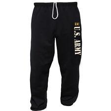 US Army sweatpants United States Army design sweatpants Men's black workout pant