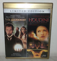 2 BLU-RAY THE ILLUSIONIST L'ILLUSIONISTA - HOUDINI L'ULTIMO MAGO - LIMITED
