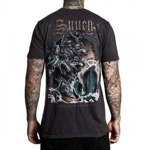 Sullen Art Collective Wolf Paq Mens T-Shirt MMA UFC Tattoo Clothing