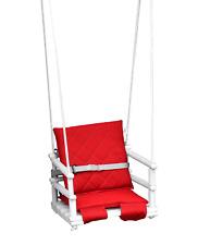 Baby wooden hanging swing for home and garden safetybelt 4in1 indoor outdoor
