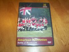 AMERICAN REVOLUTION BATTLE OF MONMOUTH Battlefield War History Channel DVD NEW