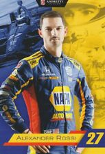2019 Alexander Rossi Napa Auto Parts Honda Dallara Indy Car postcard