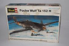 REVELL MODELS FOCKE WULF, WWII NAZI GERMANY AIRPLANE, 1:72, BOXED, LOT D
