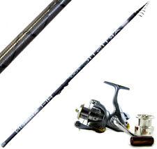 KP3645 Canne à pêche Bolognaise Artistique Power Bolo 5 mt Carbon Trx Moulinet