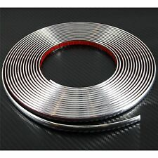 (0.9cm) 9mmx8m CHROME CAR STYLING MOULDING STRIP TRIM For Audi A5 A6 A7 S Line