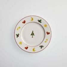 4 Dibbern Fine Bone China Season`s Greetings Teller 21 cm