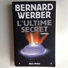 L'Ultime Secret - Bernard Werber - livre spiritualité, science-fiction, polar