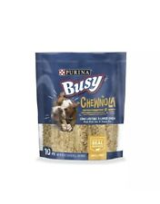 Purina Busy Real Beefhide Dog Chews Chewnola 10 ct. Pouch