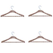 Puppenhaus 4 Holz Kleiderbügel Miniatur 1:12 Schlafzimmer Kleiderschrank