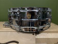 1968 Ludwig LM410 5x14 Super Sensitive vintage snare drum