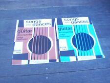 Lot of 2 John Hoffman Books Guitar Score Sheet Music Classical