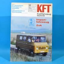 DDR KfT Kraftfahrzeugtechnik 12 1978 Zuk Citroen Visa Mercedes T-Reihe Mustan 61