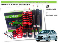 HONDA CITY SEL JAZZ 2003-2007 D7 JAPAN Adjustable Coilover High Low Soft Hard