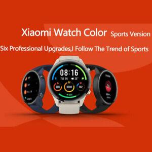 2021 Xiaomi MI Watch Color Sports Heart Rate GPS SpO2 Blood Oxygen Smartwatch