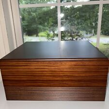 Craftsman's Bench Maywood Humidor With Humidifier & Hygrometer
