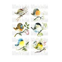 6 Fall Quotes Waterslide Decals for Tumblers Ceramics Furniture Set #119