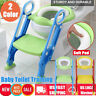 Baby Kid Toilet Seat Potty Training Soft Pad Cushion Step Ladder Stool Anti-Slip