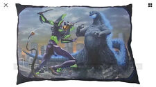 GODZILLA vs EVANGELION - Mega Big Cushion 53 x 35cm 2016 SEGA F/S pillow plush