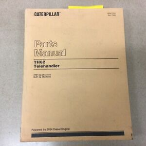 CAT Caterpillar TH62 PARTS MANUAL BOOK CATALOG LIST TELEHANDLER FORKLIFT 4TM 3LN
