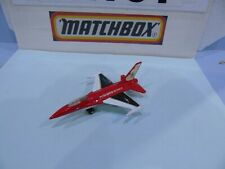 MATCHBOX PRE PRODUCTION SKYBUSTERS F16A USAF UNITED STATES AIR FORCE RED WHITE