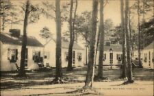 Bass River Cape Cod MA Cottages at Yarmouth Postcard