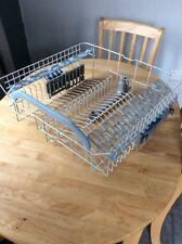 Indesit Dishwasher Upper Basket Rack With 4 Adjustable Flaps