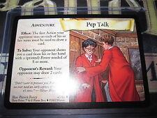 HARRY POTTER TRADING CARD TCG QUIDDITCH CUP PEP TALK 43/80 UNCO EN MINT