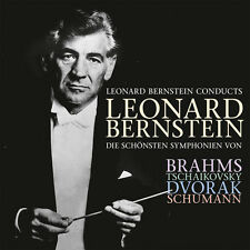 CD Leonard Bernstein Conducts Brahms, TCHAIKOVSKY 3cds