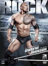 The WWE - The Rock - Epic Journey Of Dwayne Johnson (DVD, 2012, 3-Disc Set)
