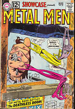 SHOWCASE #39 G+ FEATURING METAL MAN SILVER AGE 1962!