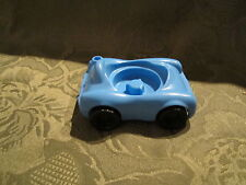 Fisher Price Little People Garage house city vehicle replacement Blue car  1