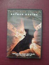 New listing Batman Begins (Dvd, 2005, Widescreen)