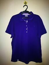 PUMA PERIWINKLE COLOR POLO SHIRT TAG SIZE XL