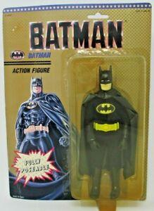 "1989 Kidz Biz Toy Biz Batman Fully Poseable 8"" Action Figure"