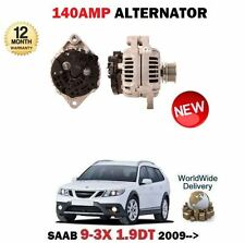 FOR SAAB 9-3X 1.9 TTID 180BHP 2009-> NEW 140A AMP ALTERNATOR UNIT