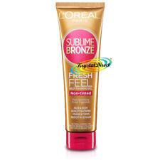 2 X Loreal Sublime Bronze Fresh Feel Self TANNING GEL Face Body - 150ml Each
