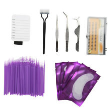 Individual Eyelash Extension Kit Semi Perm Individual Lashes Mink NEW