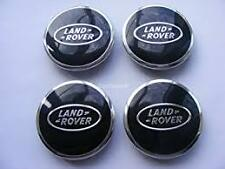 Land Rover Black Alloy Wheel Centre Caps 63mm X4 Fits Discovery vehicle